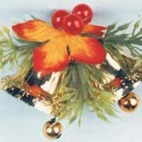 Santa Bow with Bell 01