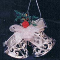 Santa Bow with Bell 03