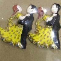 Edible Sugar Dancing Wedding Couple