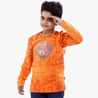 Boys Round Neck T- Shirts