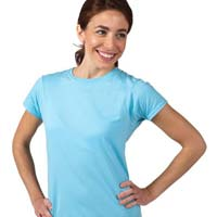 Ladies Round Neck T- Shirts