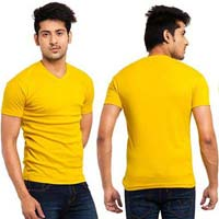 Mens V Neck T- Shirts