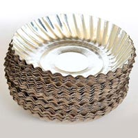 4inch Silver Paper Plates