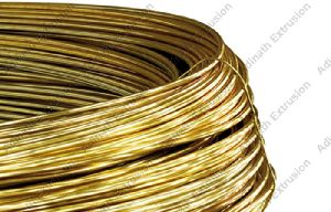 Brass Extrusion Coil Wires