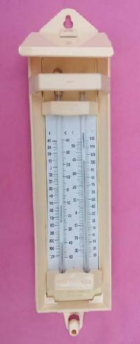 Maximum Minimum Plastic Thermometer