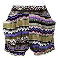Ladies Short Harem Pants