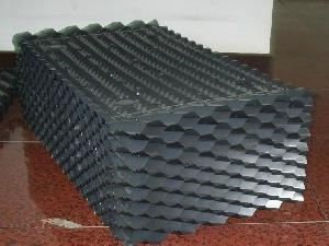 Black PVC Cooling Tower Fills