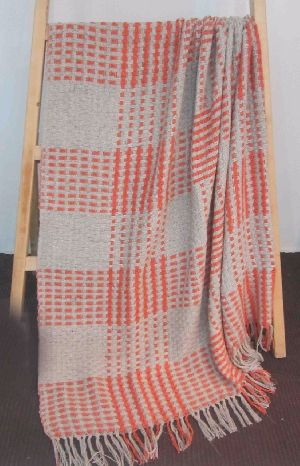 Cotton throw Blanket (KI-T) 05