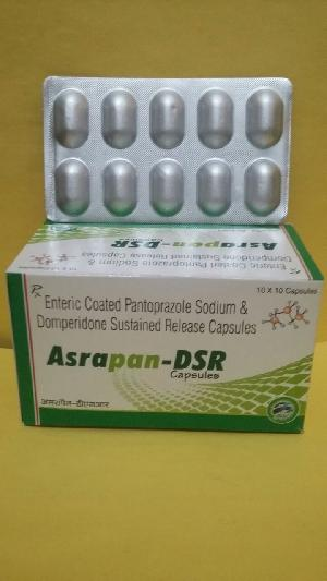 Enteric Coated Pantaprazole Sodium & Domperidone Sustained Release Capsules