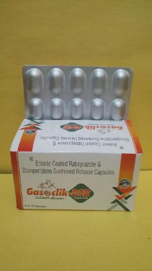 Enteric Coated Rabeprazole Domperidone Sustained Release Capsules