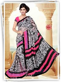 Awesome Weightless Georgette Aisha Printed Sarees