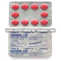Aurogra 100 mg Tablets