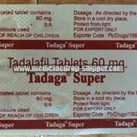 Tadaga 60mg Tablets