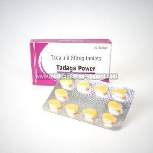 Tadaga Power 80mg Tablets