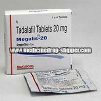 Tadalafil 20 mg Tablets