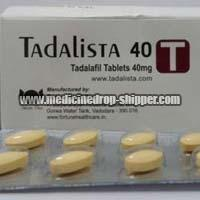 Tadalista 40mg Tablets