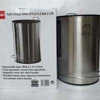 Cello Tuff Steel Ring Style Stainless Steel Bin