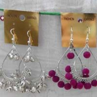 Plastic Beads Earrings