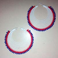 Spiral Beads Earrings
