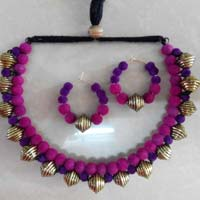 Velvet Necklace Set