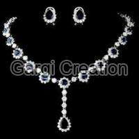 American Diamond Necklace Set 02