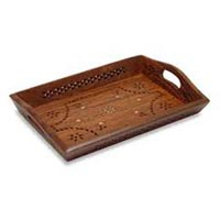 Wooden Serving Tray 02