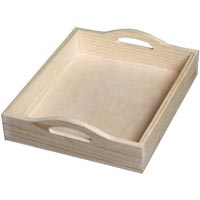 Wooden Serving Tray 01