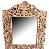 Wooden Mirror Frame 02
