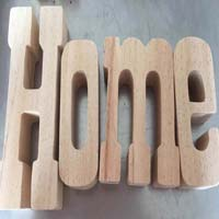 Wooden Alphabet Letters 09