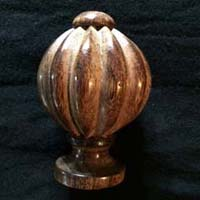 Wooden Curtain Finials 13