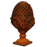 Wooden Curtain Finial 01