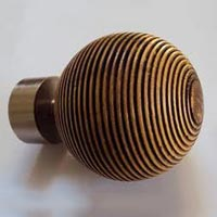 Wooden Curtain Finial 02