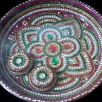 Decorative Pooja Plate 03