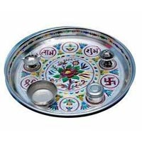 Decorative Pooja Plate 05