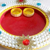 Decorative Pooja Thali 07