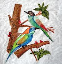 Fabric Paintings