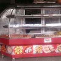 Stainless Steel Display Counter 01