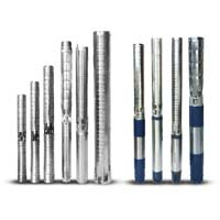 Water Filled Borewell Submersible Pump Set