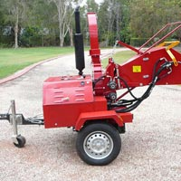 Diesel Engine Wood Chipper 01