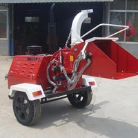 Diesel Engine Wood Chipper 03