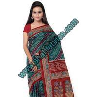 Cotton Bandhej Sarees (BCA 1101)