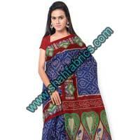 Cotton Bandhej Sarees (BCA 1103)