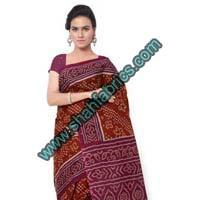 Cotton Bandhej Sarees (BCA 1105)