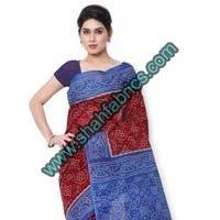 Cotton Bandhej Sarees (BCA 1106)
