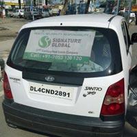 Car Mesh Advertising