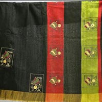 Hand Painted Sarees 02