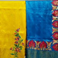 Hand Painted Sarees 03