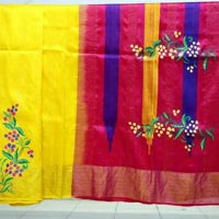 Hand Painted Sarees 10