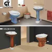 Vitrosa Wash Basin & Water Closet Set