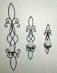 Iron Wall Candle Sconces 01